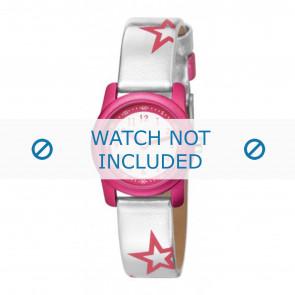 Esprit watch strap ES000FA4-40ZI /  000FA4 Leather Silver
