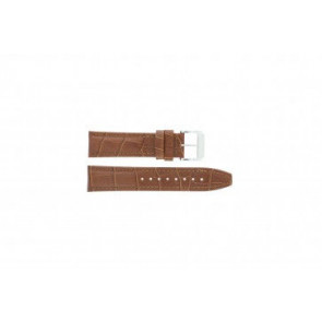 Festina watch strap F16081/8 Leather Brown 22mm + brown stitching