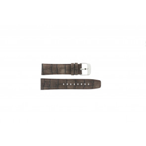 Festina watch strap F16573/4 Leather Brown 23mm + brown stitching