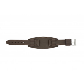 Fossil watch strap JR1395 Leather Brown 20mm