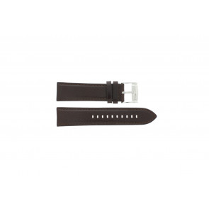 Fossil watch strap ME-1020 Leather Brown 24mm