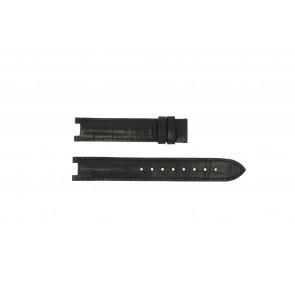 Guess watch strap GC24001L2 / GC15000 Leather Black 16mm