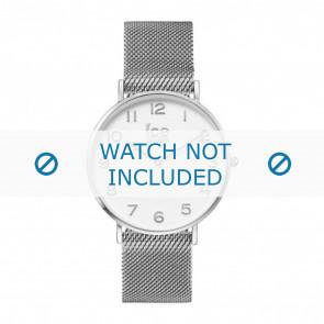Ice Watch watch strap 012701 / 012702 Metal Silver 20mm