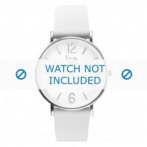 Ice Watch watch strap CT.WSR.36.L.16 Leather White 18mm