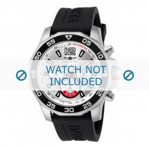 Invicta watch strap 7430 Rubber Black 22mm