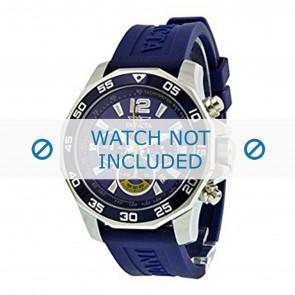 Invicta watch strap 7431 Rubber Blue 22mm