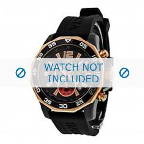 Invicta watch strap 7435 Rubber Black 22mm