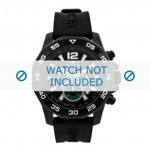 Invicta watch strap 7436 Rubber Black 22mm