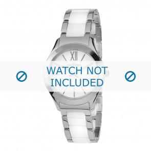 Jacques Lemans watch strap 1-1796B Ceramics Bi-color