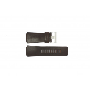 Fossil watch strap JR-9121 Leather Dark brown 26mm