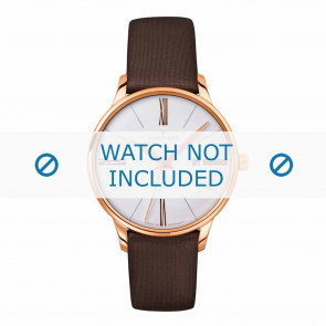 Junghans watch strap 047/7571.00 Leather Brown 14mm