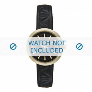 Karl Lagerfeld watch strap KL1610 Leather Black