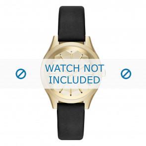 Karl Lagerfeld watch strap KL1617 Leather Black