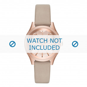 Karl Lagerfeld watch strap KL1619 Leather Beige