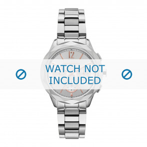 Karl Lagerfeld watch strap KL4005 Metal Silver
