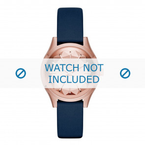 Karl Lagerfeld watch strap KL1632 Leather Blue