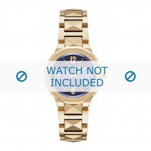 Karl Lagerfeld watch strap KL3407 Metal Gold plated