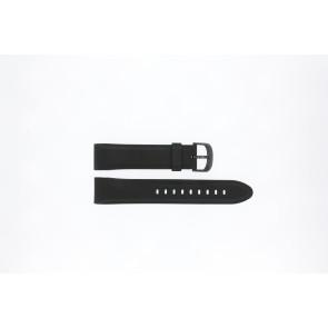 Lorus watch strap PC32-X063 Rubber Black 22mm