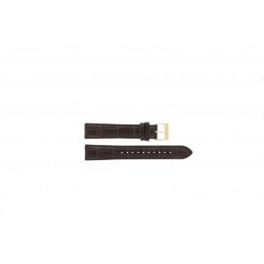 Lorus watch strap VX32-X383 Leather Brown 18mm