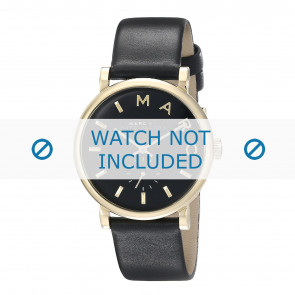 Marc by Marc Jacobs watch strap MBM1269 Leather Black 19mm