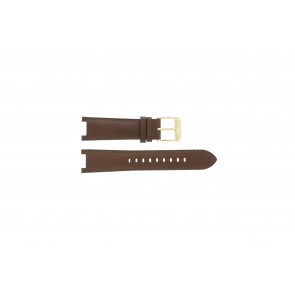 Michael Kors watch strap MK2249 Leather Brown 20mm + brown stitching