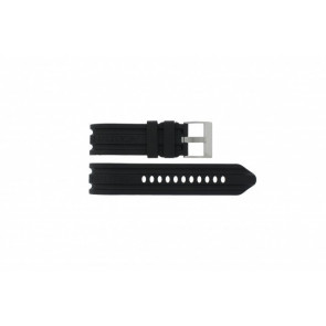 Nautica watch strap A16509G / A21514G / A43005G / A20041G / A15564G Rubber Black 24mm