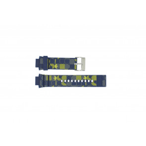 Adidas watch strap ADH6106 Rubber Blue 16mm