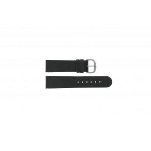 Danish Design watch strap IQ13Q586 / IV13Q843 Leather Black 22mm
