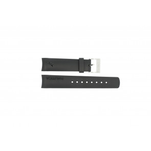 Nautica watch strap 31503G / N18523G / 31506G / A19527 / N17526 / A36002 / A13011 Rubber Black 22mm