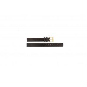Skagen watch strap 358XSGLD Leather Brown 12mm