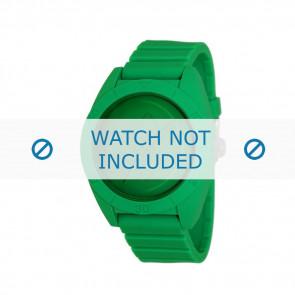 Adidas watch strap ADH2788 Plastic Green 24mm