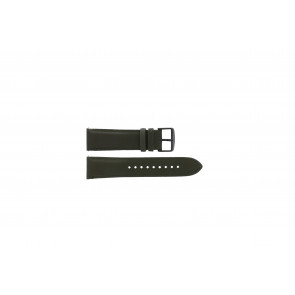Fossil (Smartwatches) watch strap S221345 Leather Green 22mm