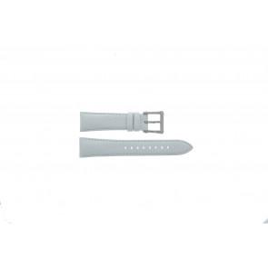 Seiko watch strap 7T92-0KS0 Leather White 20mm