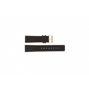 Skagen watch strap 233XXLGL Leather Brown 23mm