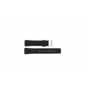 Skagen watch strap 331XLRLD / 331XLRLDO Leather Brown 19mm + brown stitching