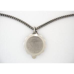 SOS talisman pendant with chain Doublé (soshk)