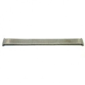 Watch strap V53F Metal Silver 18mm