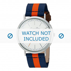Superdry watch strap SYG183UO Nylon / perlon Blue