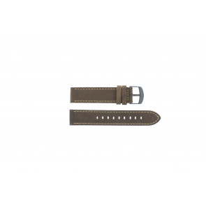 Timex watch strap T49905 Leather Brown 20mm