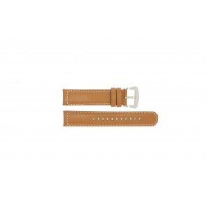 Seiko watch strap V172-0AG0 Leather Cognac 21mm