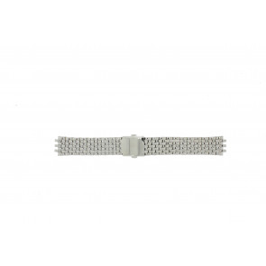 Pulsar watch strap VX43-X043 Steel Silver 20mm