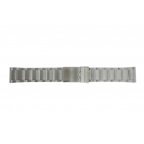 Watch strap Y120-K63 Metal Silver 24mm
