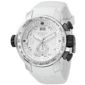 Zodiac watch strap ZO8511 Rubber White