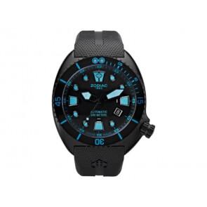 Zodiac watch strap ZO8018 Rubber Black
