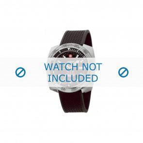 Zodiac watch strap ZO3701 Rubber Black