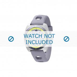 Zodiac watch strap ZO2262 Rubber Grey