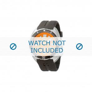 Zodiac watch strap ZO8002 Rubber Black