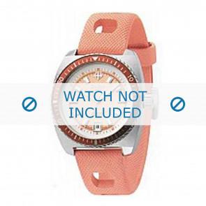 Zodiac watch strap ZO2248 Rubber Orange 19mm