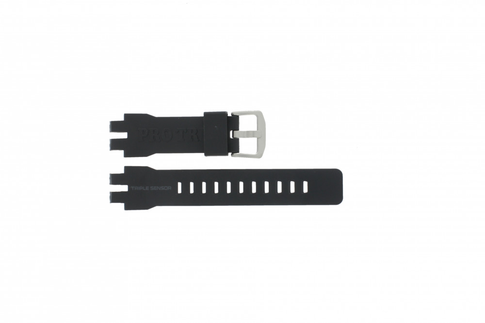 8a917e315c26 Casio PRW-6000 replacement watch strap Rubber Black - Order now!