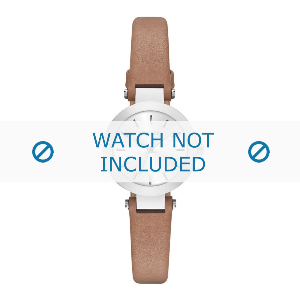 fec59dc55 DKNY watch strap NY2406 Leather Brown